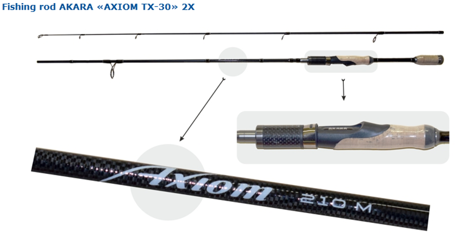 """AKARA """"AXIOM TX-30"""" 210M"""