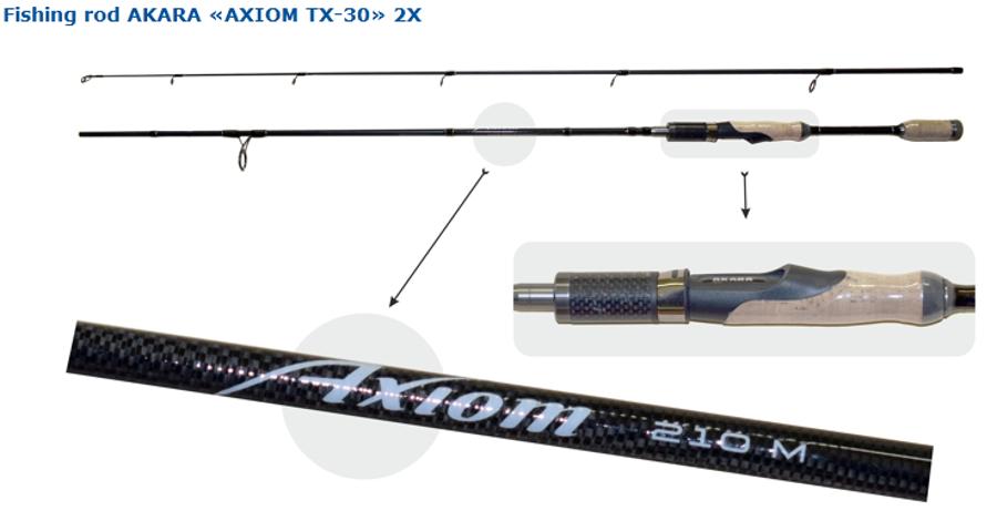 """AKARA """"AXIOM TX-30"""" 270M"""