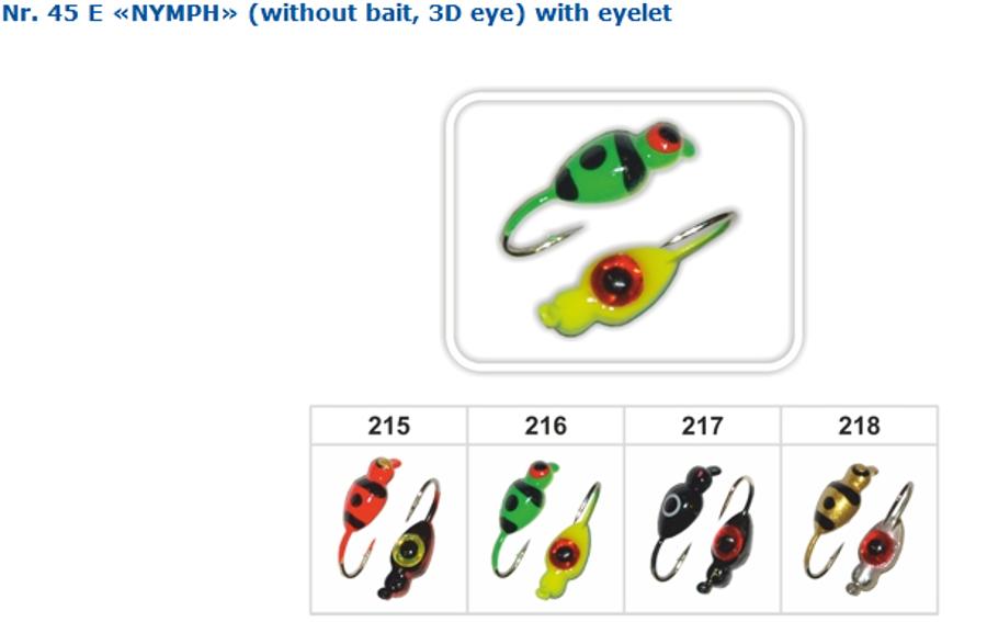 """Avižėlė """"Nimfa"""" 3D akis"""