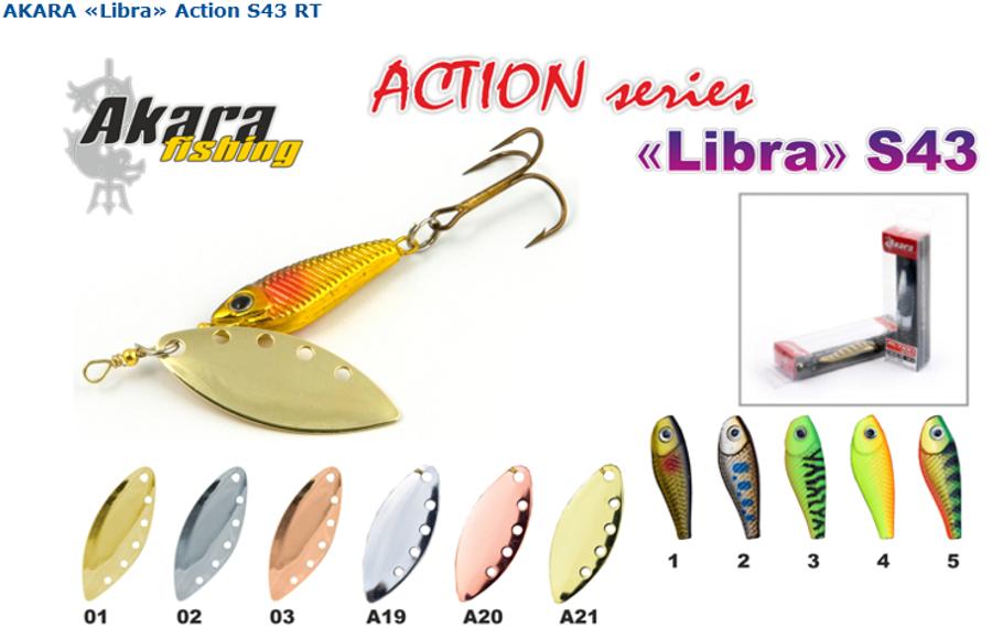 """AKARA """"Libra Action"""""""