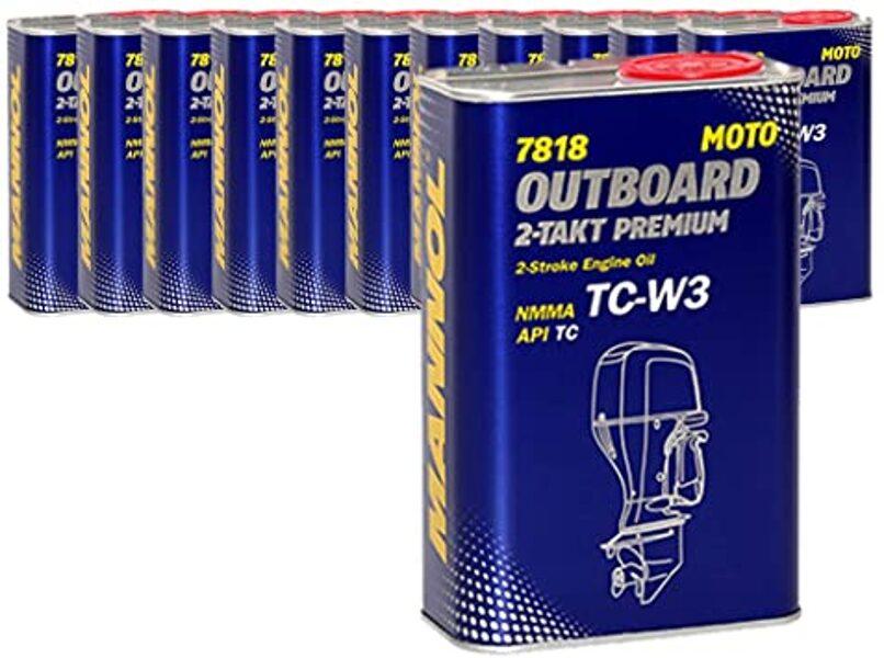 TC-W3 dvitaktė alyva valčių varikliams Outboard premium