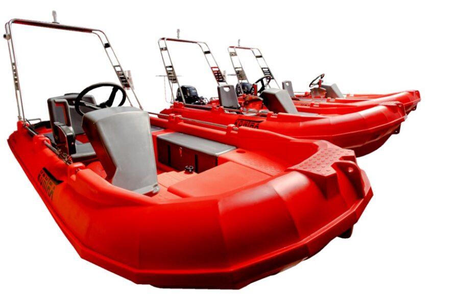 KONTRA 350 motorinė valtis iš polietileno