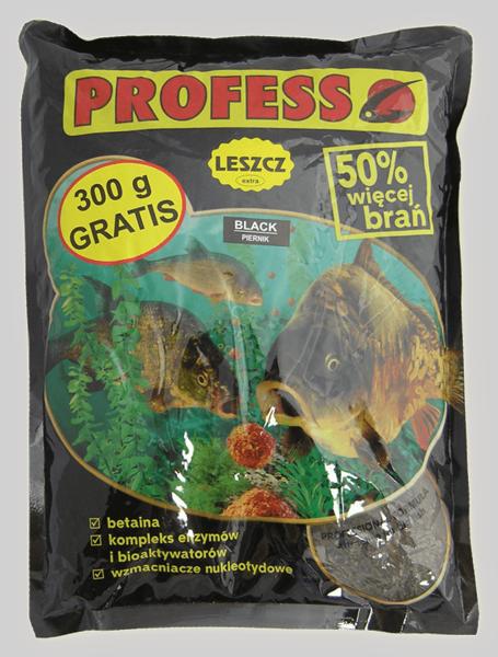 Jaukas PROFESS EXTRA Karšis + sausainis (juodas)